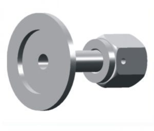 KF (QF) Flange to Female VCR Adapters,Vacuum