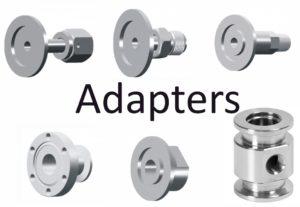 VacuumAdaptersKF (QF), NPT, VCR, ISO, CF