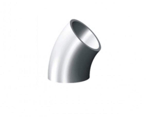 """ELBOW, 45D, WELD TUBE 0.75"""", 304 SS"""