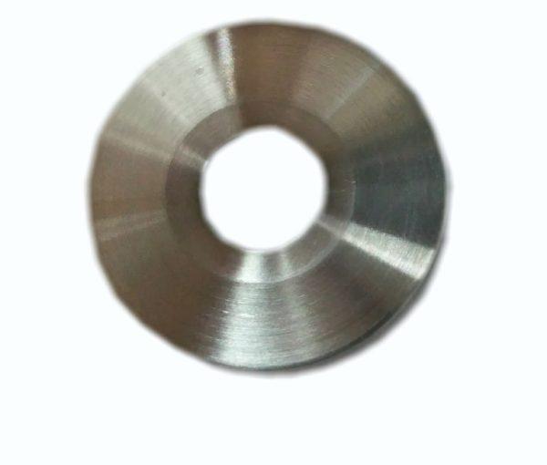 "Flange, bored weld, 3/8"", KF (QF) 10, 304 SS"