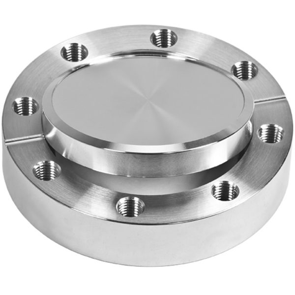 """FLANGE, BLANK, CF 1.33"""", 304 SS, ROT., TAP."""
