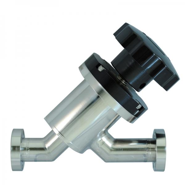 VALVE, INLINE, MANUAL, SS, CF 1.33, CU GASKET