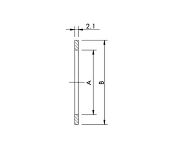 "GASKET, COPPER, CF 1.33"", 10 PCS/PACK"