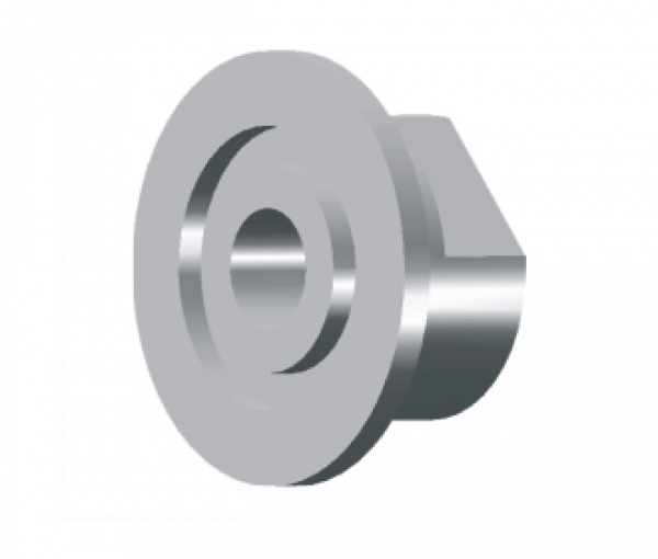 KF (QF) 16 to 1/8 Inch NPT Female Adapter 304 Stainless Steel