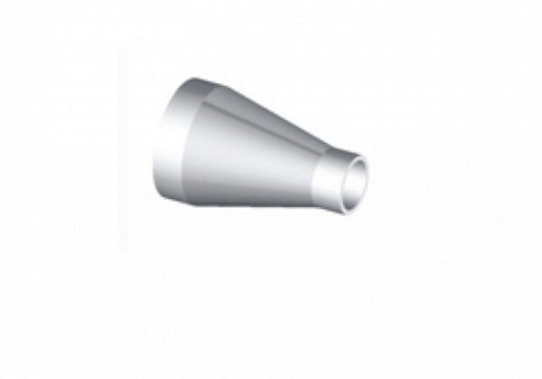 """REDUCER, CONICAL, WELD TUBE 1.0""""/0.75"""", 304 SS"""
