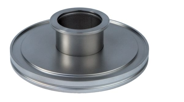 ISO to KF (QF) adapter, ISO 63 to KF (QF) 25 Flange, 304 SS