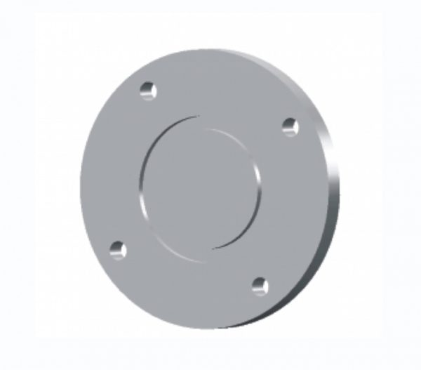 Flange, Vacuum, Blank Bolted, LF, ISO 63, 304 SST