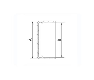 CAP, PLASTIC, KF (QF) 10/16 (10 pack)