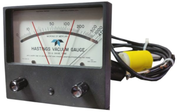 Hastings Vacuum Gauge CVT-26 Controller, High/Low contacts (reconditioned)