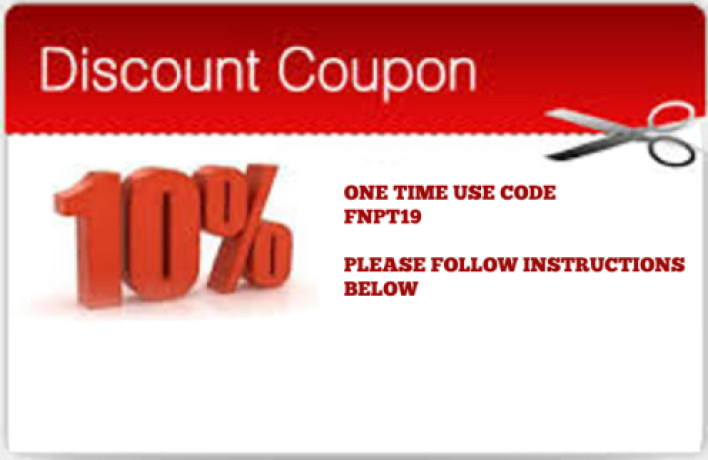 Coupon Code: FNPT19