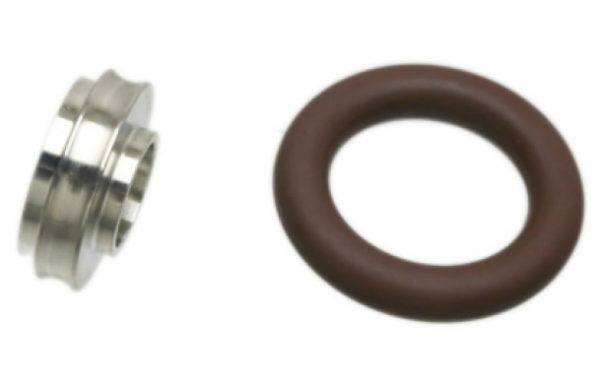 CENTER RING, KF (QF) 10 to 16 Adapter, VITON, 304 SS