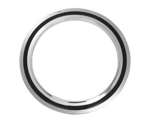 ISO 63, SS Center Ring, Viton, Alum Retainer