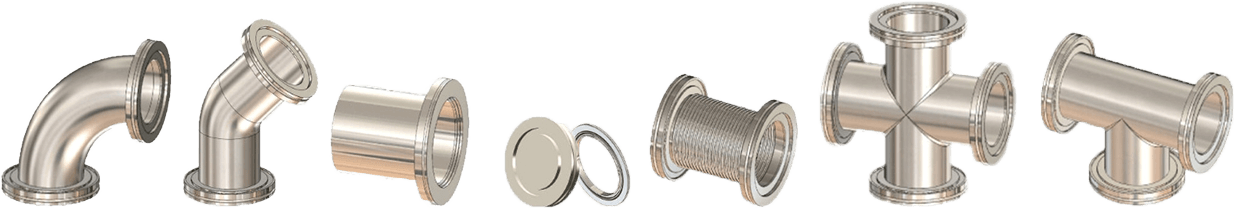 7 Various ISO Flanges and Fittings