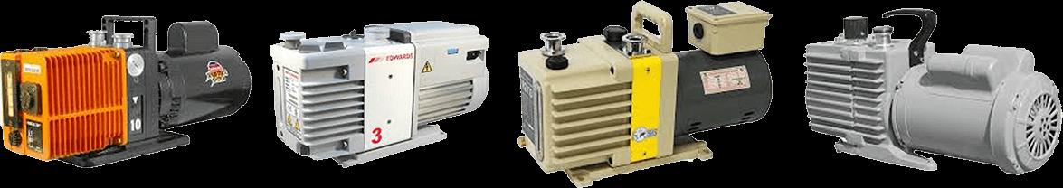 Alcatel, Edwards, Leybold and Welch Vacuum Pumps